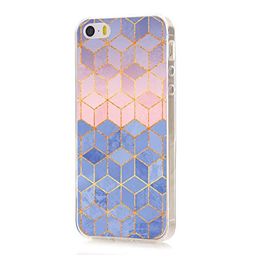 Meweri iPhone SE Clear Case, Ultra Slim Shockproof Soft TPU Back Cover for iPhone 5 5S (iPhone 5 5S SE, 8)