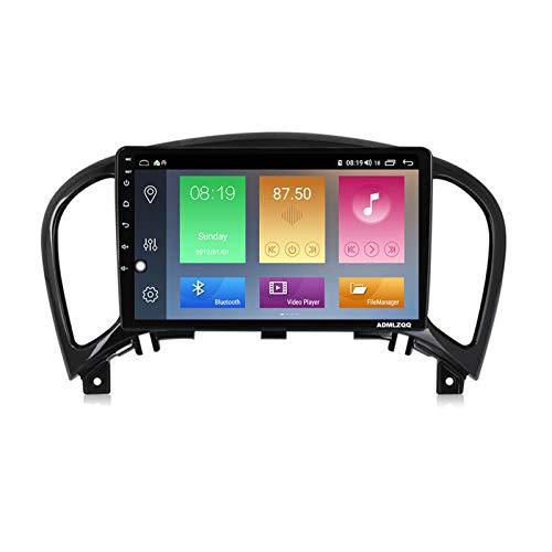 ADMLZQQ 9 Pulgadas Car Stereo Radio para Nissan Juke 2010-2014, Navegación GPS Android 10.0, Bluetooth/Mirrorlink/FM/RDS/DSP/Cámara Trasera / 4G + WiFi,7862 (8core 6+128g)