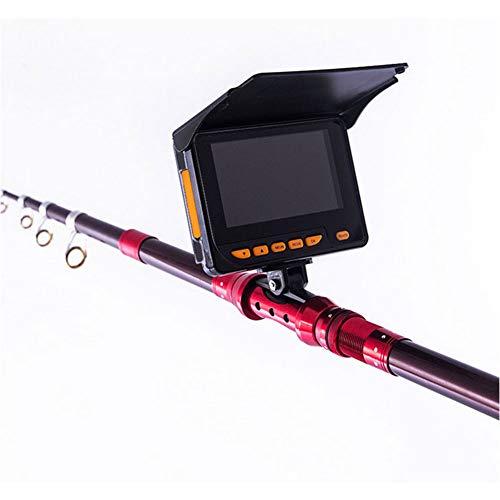 AKTET Buscador Visual de Peces de 4,3 Pulgadas en HD Que Pesca bajo el Agua cámara 1000TVL 8 pcs IR infrarrojo LED para Hielo/Lago y Pesca en Barco