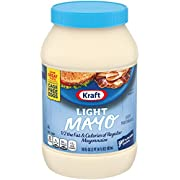 Kraft Mayo Light Mayonnaise (30 oz Jars, Pack of 2)