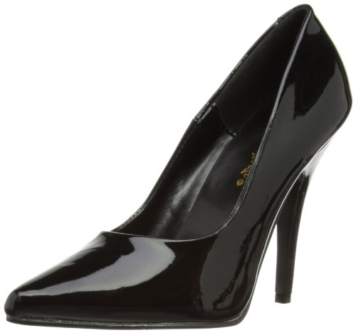 Pleaser SEDUCE-420 Damen Pumps, Schwarz (Blk pat), EU 42 (UK 9) (US 12)