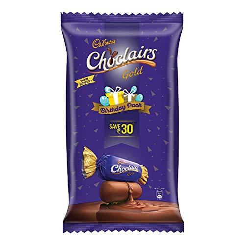 Cadbury Choclairs Gold Candies Birthday Pack