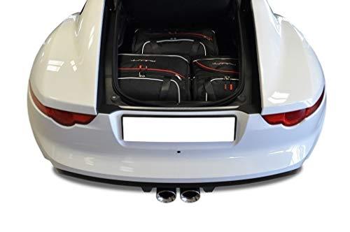 KJUST Dedizierte Reisetaschen 3 STK kompatibel mit Jaguar F-Type Coupe I 2013 -