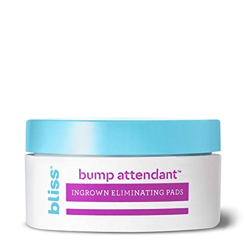 Bliss Bump Attendant, Ingrown Hair Eliminating Pads | Use Between Waxing/Shaving Sessions |...