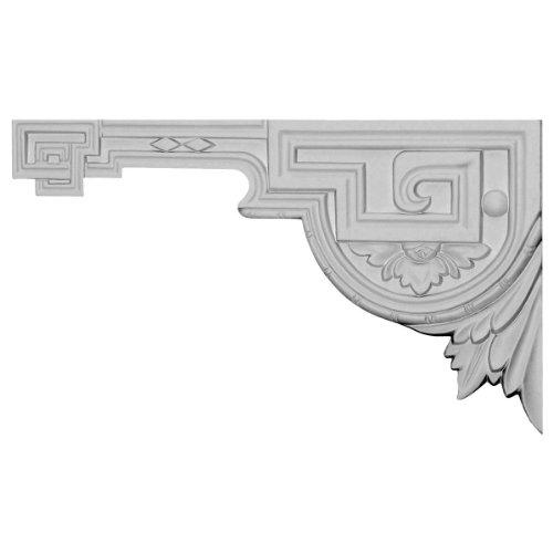Ekena Millwork SB11X06LE-L Legacy Stair Bracket, Left, 11'W x 6 3/8'H x 1/2'D, Primed