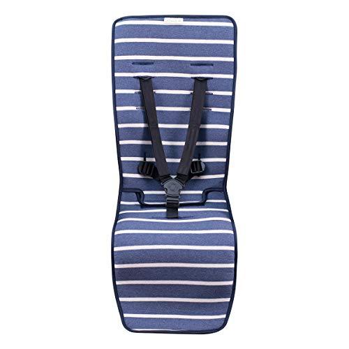 JANABEBE Colchoneta para Joolz y Baby Jogger City Mini (Sailor Stripes)