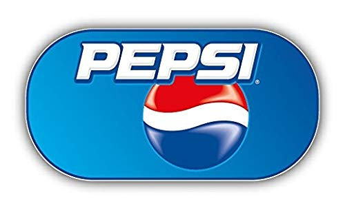 Pepsi Logo - 5 Inch Sticker Graphic - Auto Wall Laptop Cell phone Bumper Window Decal Sticker