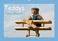 Teddys Meine Freunde (Wandkalender 2022 DIN A2 quer): Bezaubernde Teddybaeren fotografiert mit viel Liebe zum Detail (Monatskalender, 14 Seiten )