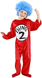 elope Dr. Seuss Thing 1 & 2 Costume for Kids 2T-4T