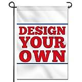 Anley doppelseitige benutzerdefinierte Garten Flagge 18 x 12,5 Zoll - drucken Sie Ihr eigenes Logo/Design/Wörter - angepasst Garten Fahnen Banner (nur Flagge)