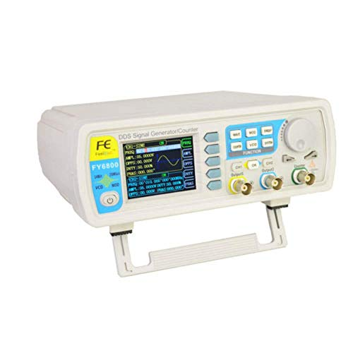 DOMINTY FY6800S Digital Dual Kanal DDS Funktion Signal Generator 60MHz Frequenzmesser Funktionsgeber Funktionsgenerator von Sinus/Dreieck/Quadrat/Sägezahn/Pulswelle