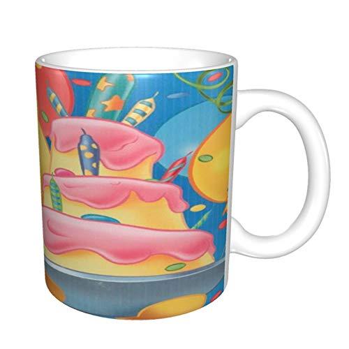 Winnie The Pooh - Taza de café de cerámica, taza mágica de la mañana, regalo de Navidad, para niñas y amantes mágicos, 330 ml