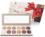 Lidschatten-Palette Glitzer, Shimmer, Bunt - Luvia Daily Elegance Make-Up - 12 Glamouröse Schimmer...