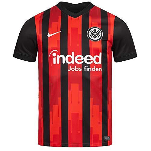 Nike Eintracht Frankfurt Home Stadium Trikot 20/21 (XL, Black/red)