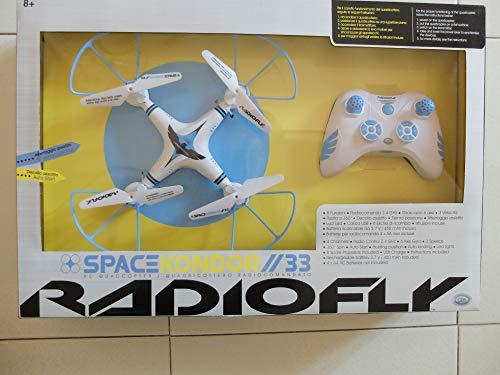 ODS QUADRICOTTERO RADIOCOMANDATO RADIOFLY Space KONDOR 33