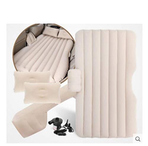 Clkdasjd aufblasbares Bett Auto Schock Bett Auto Reisebett weiß