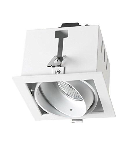 LEDs-C4 DM 0053-14-00-Encastrement multidir 1xgu5,3 50w Blanc laqué