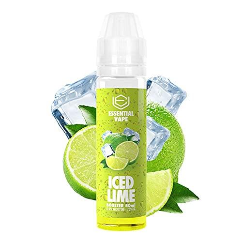 E-Liquid ESSENTIAL VAPE ICED LIME by BOMBO   50ML TPD   ICED LIME   Sin Nicotina: 0MG   E-Liquido para Cigarrillos Electronicos - E Liquidos para Vaper 70/30