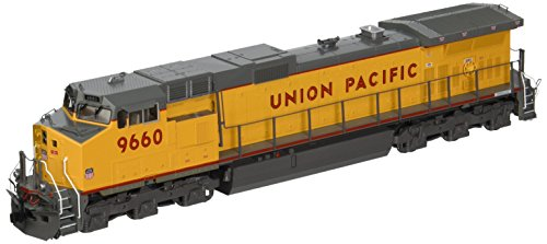 Kato USA Model Train Products #9660 HO Scale GE C44-9W Union Pacific