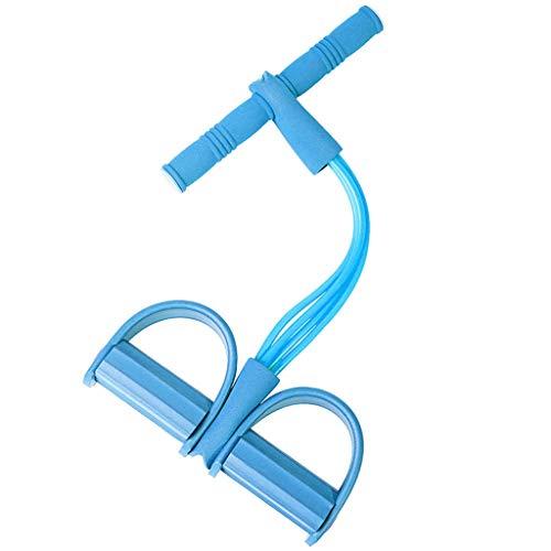 ZCX Pedal de tracción Pérdida de Peso Delgada Artefacto estómago Abdominales Assist Aptitud Femenina Yoga Pilates Equipamiento de la Vivienda de la Cuerda Máquinas de Brazo (Color : A)