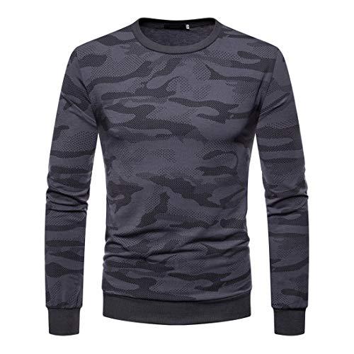 Herren Pullover Fleece Sweatshirt Camouflage Hoodies Digital Camouflage Hoodie Herren...