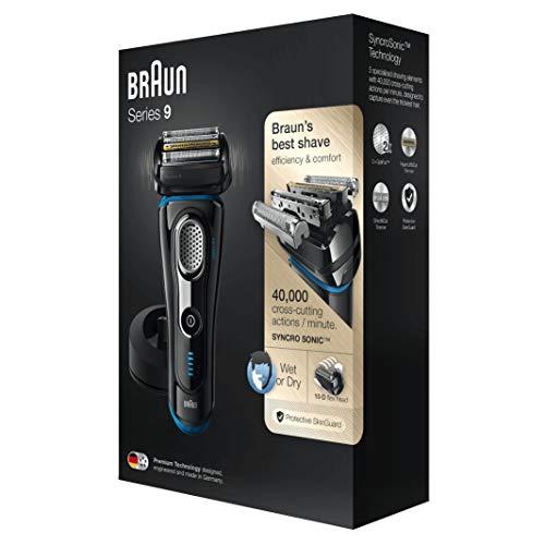 Braun 9242s Series 9 - Afeitadora eléctrica para...