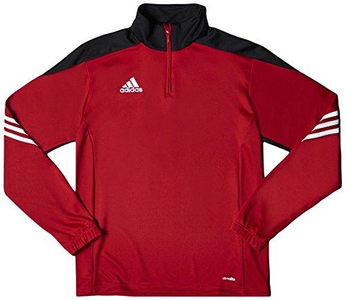 adidas Sere14 TRG TOP - Sudadera para hombre, color rojo / negro / blanco, talla XL
