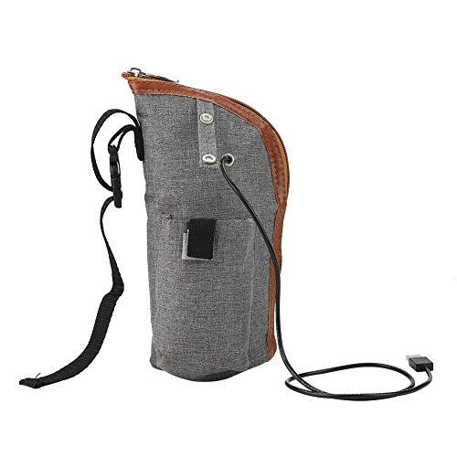 Fdit Sac Chauffe-Lait - USB Chauffage Portable Voyage Tasse Lait Chaud Chauffe-Biberon Biberon Sac de Rangement pour Nourrissons