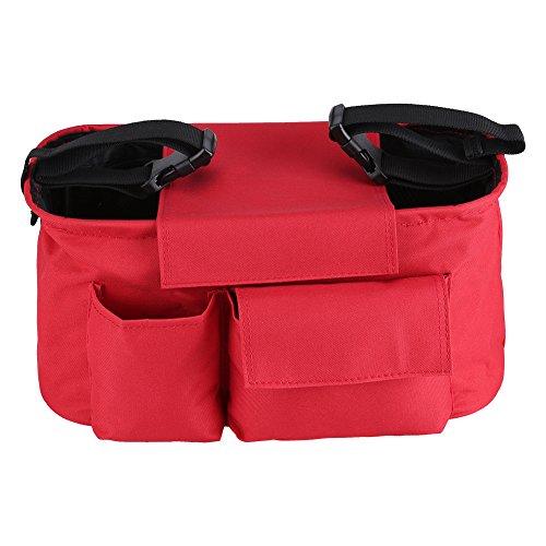 Suchinm Baby Kinderwagen Tasche, Baby Wickelwagen Kinderwagen Buggy Lagerung Kinderwagen Tasche Flasche Cup Organizer für den Familiengebrauch(2#)