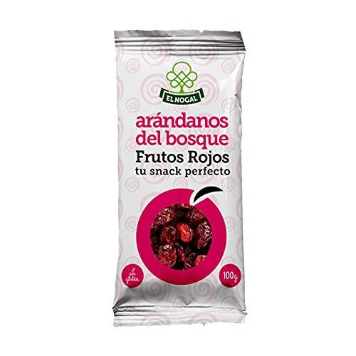 EL NOGAL Frutos Secos Arándanos del Bosque Bolsa, 100 G