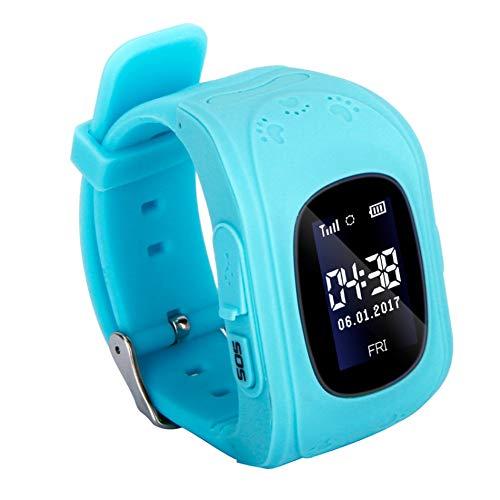 FRWPE Kids Smart Horloge Telefoon voor Meisjes Jongens Kinderen LBS Tracker Real-time Locatie Smartwatch Ondersteuning SIM-kaart Oproep SOS Remote
