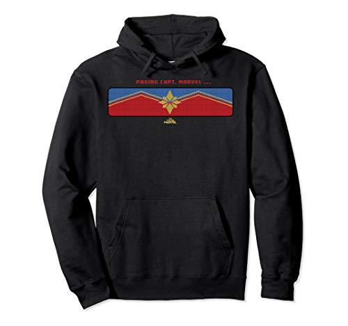 Captain Marvel Paging Capt. Marvel Logo Pullover Hoodie