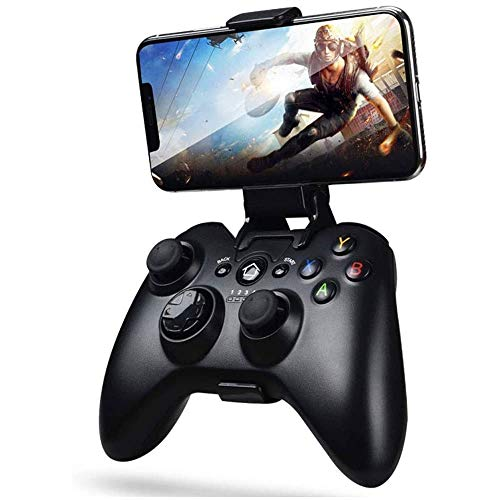 AMOYEE Mobile Controller Mobile Game Controller for PUBG Android Game Controller for AndroidiOS Wireless Remote Controller Gamepad Mobile Gaming Controller unterstutzt Mobile Key Mapping