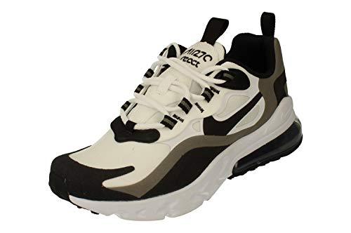 Nike Air Max 270 React GS Running Trainers Bq0103 Sneakers Scarpe (UK 5.5 us 6Y EU 38.5, White Black Metallic Pewter 103)