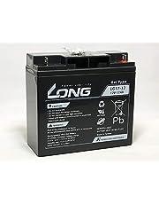 LONG【期待寿命7~10年】12V17Ah ゲルバッテリー(LG17-12)【高耐久・長寿命】(完全密封型鉛蓄電池) 蓄電容量204Wh