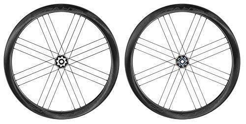 Campagnolo Bora Wto 45 Db Dark 2 Way Fit HG 11v Ruedas para Bicicleta, Deportes y Aire Libre, Negro