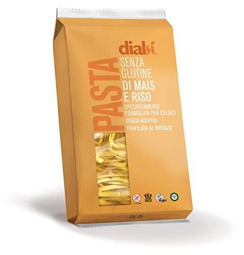 Dialsì Tagliatelle a Nido Pasta senza Glutine di Mais e Riso - 250 g