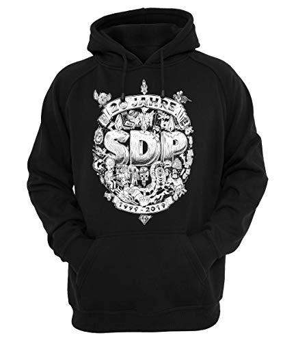 SDP Hoody 20 Jahre, Farbe:schwarz, Größe:L
