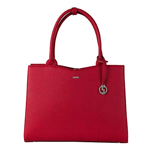 "Socha Businessbag Midi 13.3\"" Cherry Red"