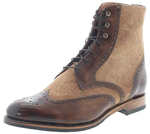 Sendra Boots Damen Schuhe 16377 Lederschuhe Ledrstiefeletten Braun 38 EU