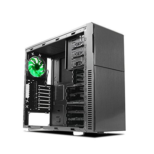 Deep Silence 3 Mid Tower ATX Case Beginner Friendly with Fully Modular...