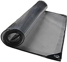 LIXIONG dekzeil voor buiten, transparant, verdikt waterdichte bescherming tegen kou, plantenstofdoek van pvc, 20 maten aan...