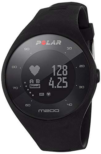 POLAR M200 GPS Running Watch, Black, One Size