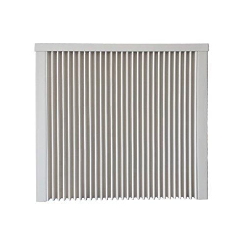 Elektroheizung - Radiator - 1600 Watt - im Set - inkl. Wandmontageset und 1,8m Anschlusskabel- Ohne Thermostat - mit Schamottespeicherkern - Maße: (LxHxT) 690x630x80 - Lagerware