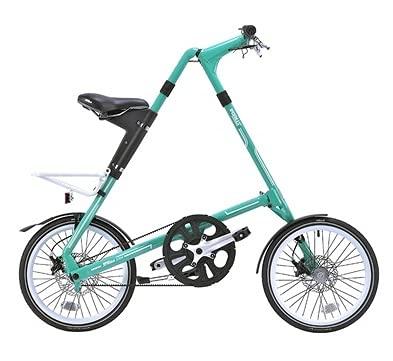 2021 STRIDA(ストライダ) 18インチ折りたたみ自転車 シングルスピード アルミフレーム 前後ディスクブレーキ STRIDA SX MINT