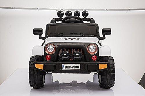 Toyas ATAK Ofüroad SUV Jeep Kinderauto Kinderfürzeug Elektrofürzeug Gel ewagen 2 x 25 W Motor (BRD-7588w)
