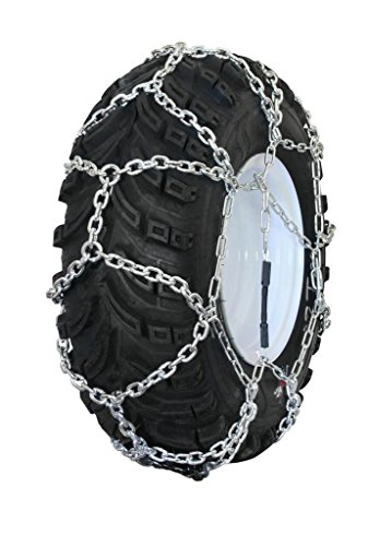 Discover Bargain Grizzlar GTN-599 Garden Tractor/Snowblower Net/Diamond Style Alloy Tire Chains 23x9...