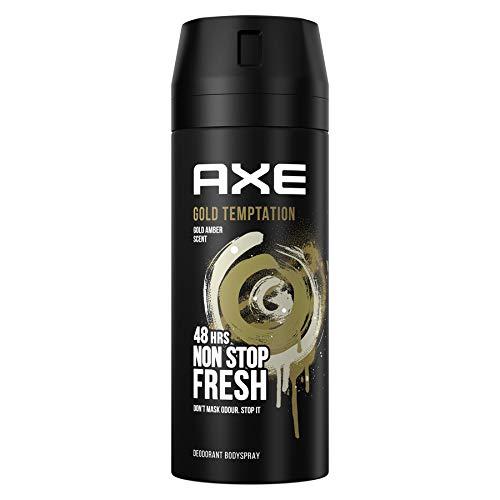 Axe - Gold Temptation - Desodorante Bodyspray para hombre, 48 horas de protección - 150 ml