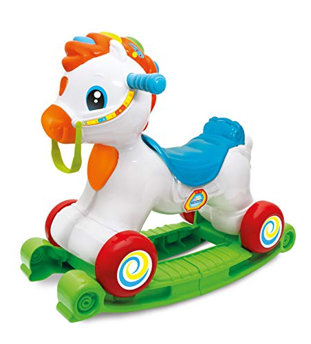 Clementoni 61785 Interactive Horse Ride On, Multicolore