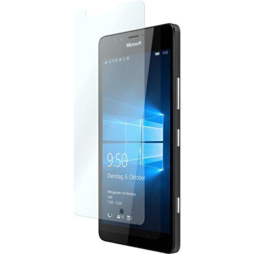PhoneNatic 1 x Glas-Folie klar kompatibel mit Microsoft Lumia 950 - Panzerglas für Lumia 950